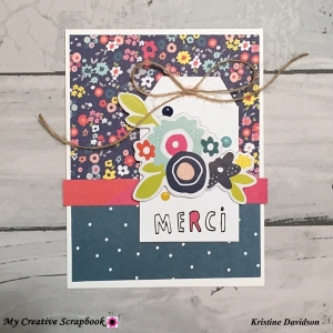 MCS-Kristine Davidson - Album Kit -Card3