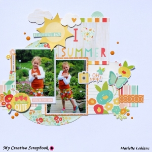 MCS-Marielle LeBlanc -July Main kit-July Sketch