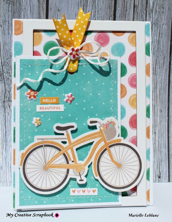 MCS-Hello beautiful card-Main kit-Marielle LeBlanc