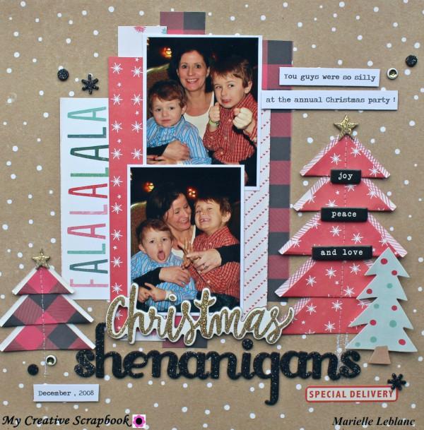 MCS-Marielle LeBlanc-December main kit-LO2-Christmas Shenanigans