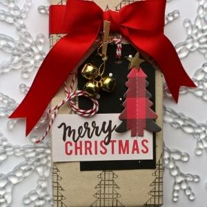 MCS-Marielle LeBlanc -December main kit-Gift paper and tag