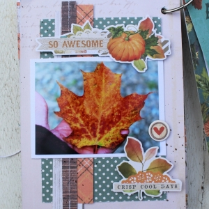 Marielle LeBlanc-November main kit-Mini Albumpage 9