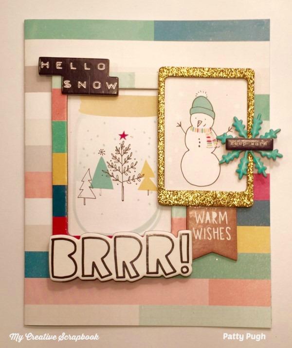 MCS January 2017 Album Page Patty McGovern-Pugh Album Kit Card L01wm-1