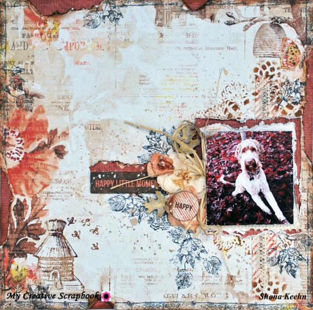 Nov LE KIT Shona Layout tutorial