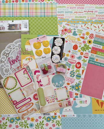 April 2015 April Album kit photoTH