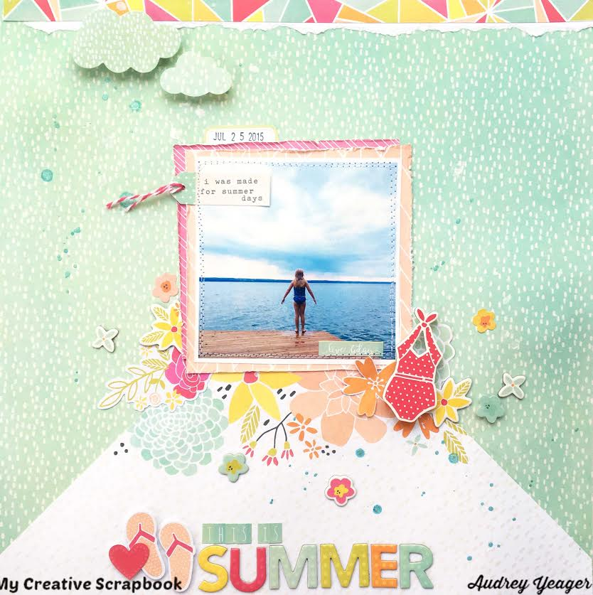 July 2016 Main kit first page Audrey 3