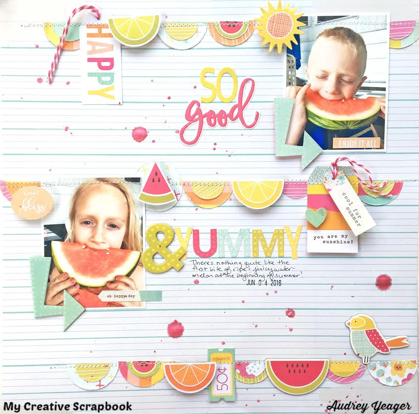 July 2016 Main kit first page Audrey
