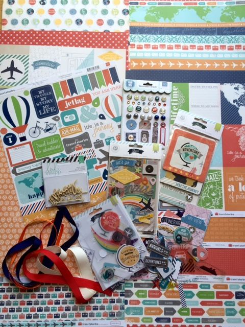 July 2015 ALbum kit photo My Creative Scrapbook