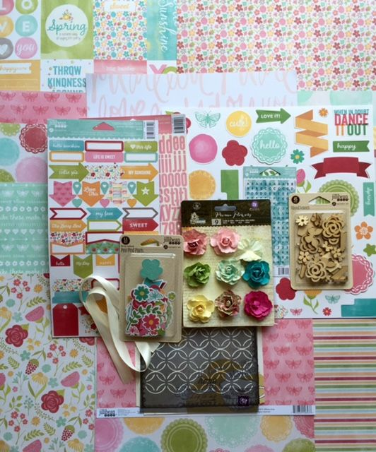July 2015 Main kit photo  My Creative Scrapbook