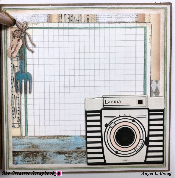 MCS-ALBUM KIT-ANGEL 9
