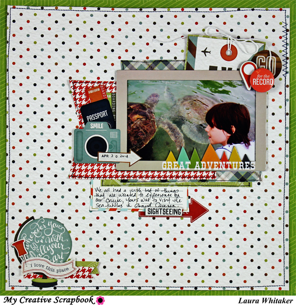 MCS - LAURA WHITAKER - AUGUST MAIN KIT - LO3 600