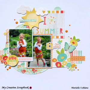 MCS-Marielle LeBlanc -July Main kit-July Sketch
