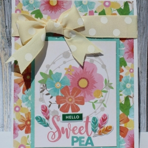 MCS-Hello sweet pea card-Main kit-Marielle LeBlanc