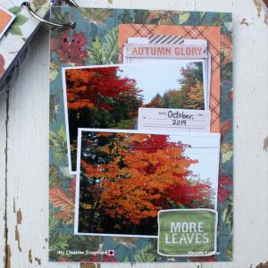 Marielle LeBlanc-November main kit-Mini Albumpage 12