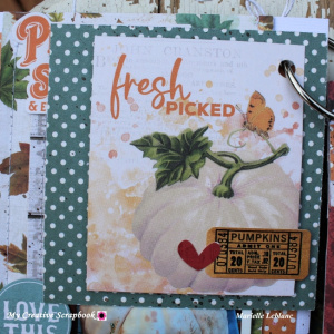 Marielle LeBlanc-November main kit-Mini Albumpage 3