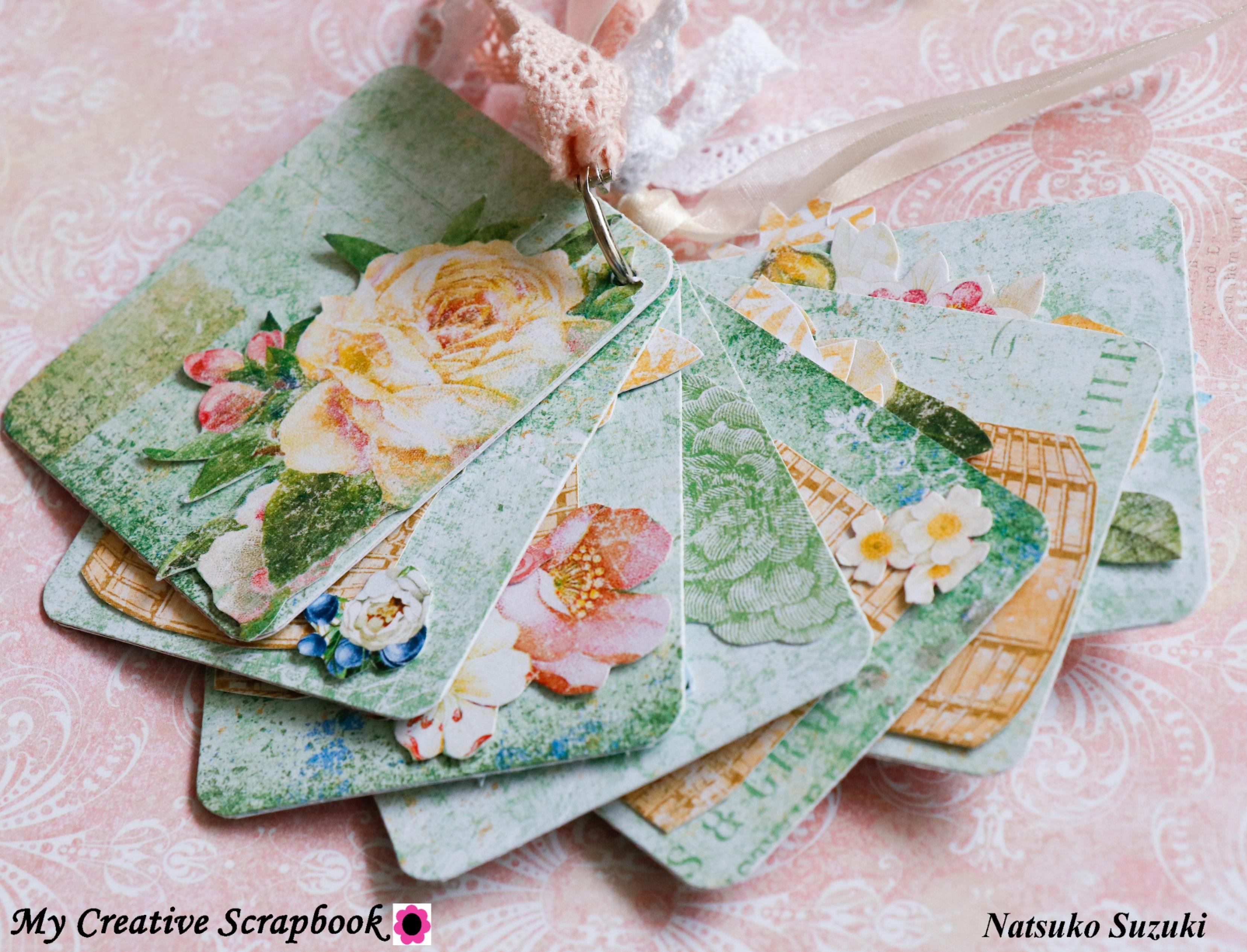 MCS-Natsuko Suzuki-LE Kit-mini album back