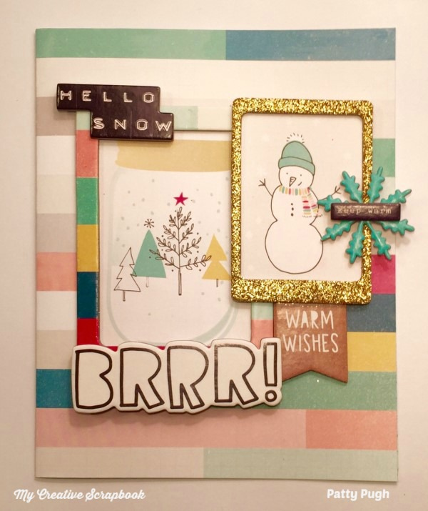 MCS January 2017 Album Page Patty McGovern-Pugh Album Kit Card L01wm-1