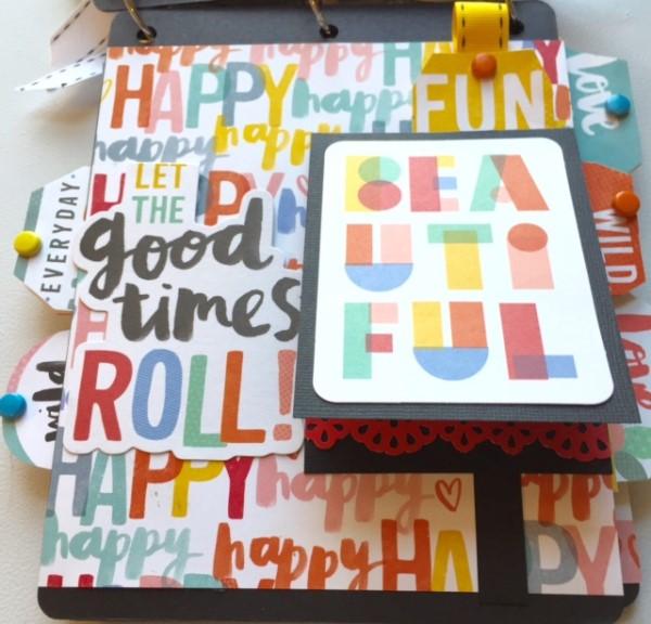 MCS Designer Patty Main kit Album L03