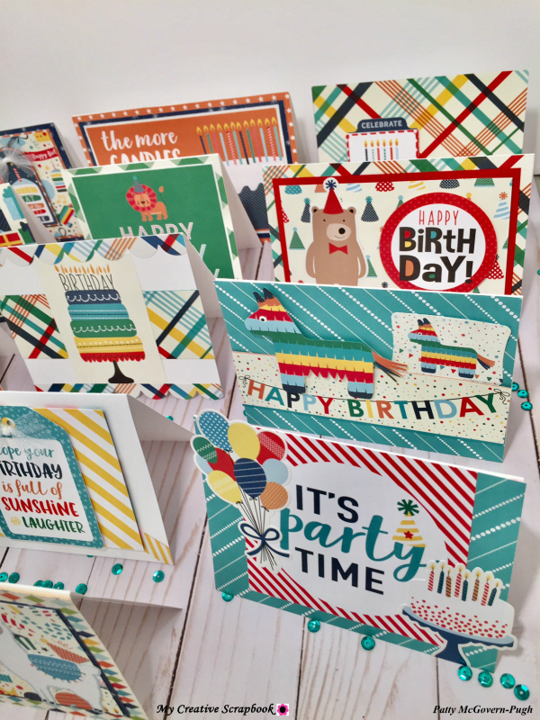 MCS Patty McGover-Pugh Album Kit L03 WM