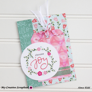 MCS Aimee Kidd creative kit card